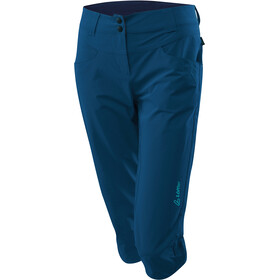Löffler Comfort Stretch Light Trekking 3/4 Hose Damen navy